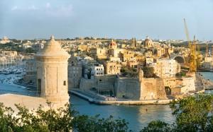 Malta Valletta Harbour